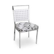 Cadeira para mesa de jantar Itapema trama colméia